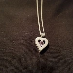 Jewelry - Amethyst & Sterling Necklace